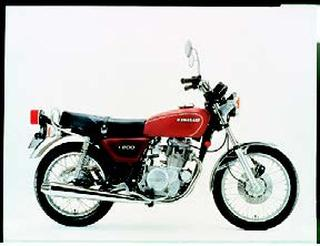 カワサキ Z200 1977年7月