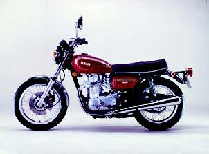 Images : ヤマハ TX650Ⅲ 1977年 3月