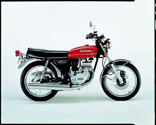 Images : スズキ GT125 1977年 4月