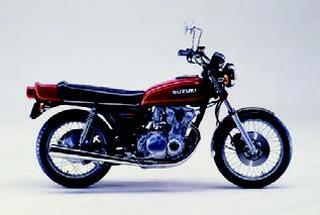 スズキ GS550 1978 年1月