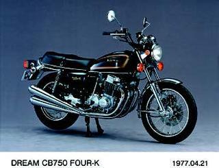 ホンダ CB750フォア-K 1977年 4月