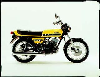 ヤマハ RD400Ⅱ 1977年7月