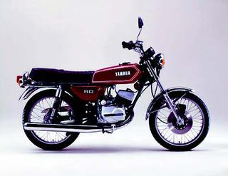 ヤマハ RD90Ⅱ 1977年 3月