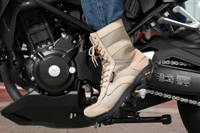 画像: ミリタリールックの防水透湿ブーツ!『GOLDWIN Gベクタークロスオーバーブーツ GSM1055』 - webオートバイ