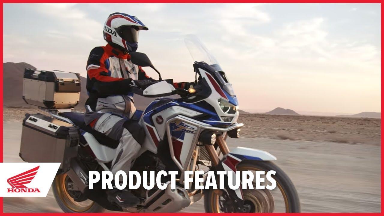 画像: New 2020 Africa Twin Adventure Sports Product Features youtu.be