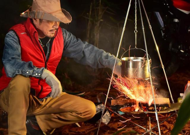 画像: ライダーのための【秋キャンプ】焚き火料理術(アウトライダー・菅生) - webオートバイ