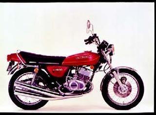 カワサキ KH400 1977年 3月