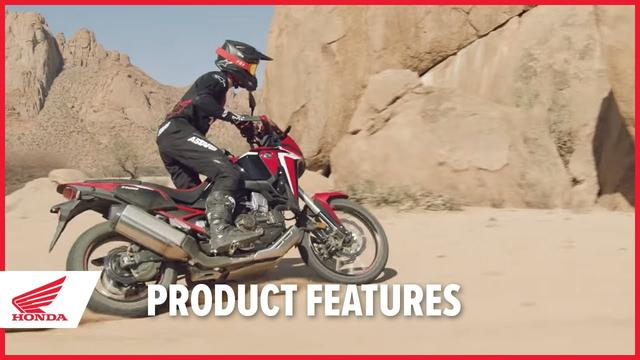 画像: New 2020 Africa Twin Product Features youtu.be