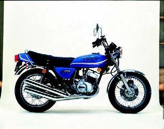 カワサキ KH250 1977年10月