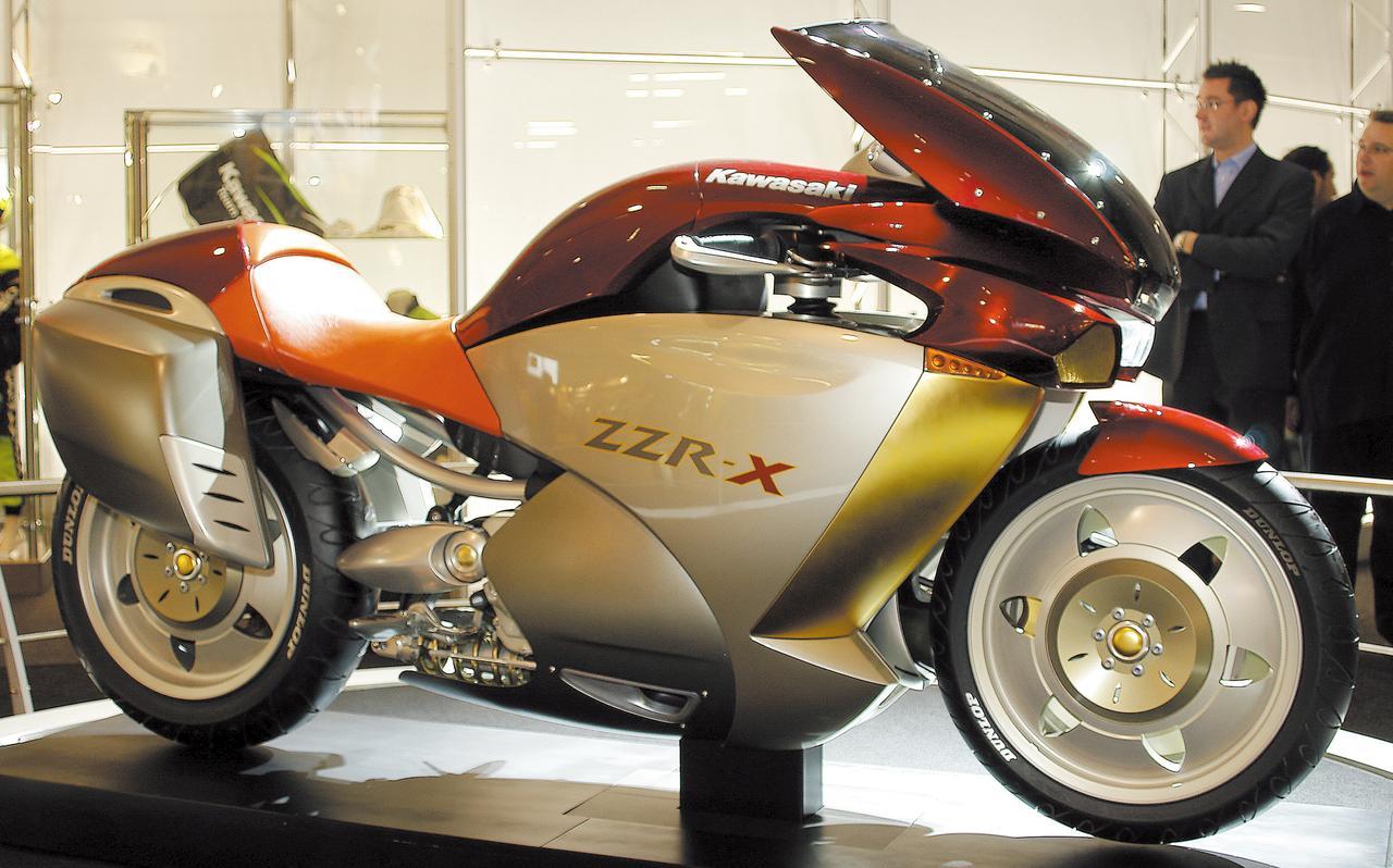 画像: ZZR-X(2003年)
