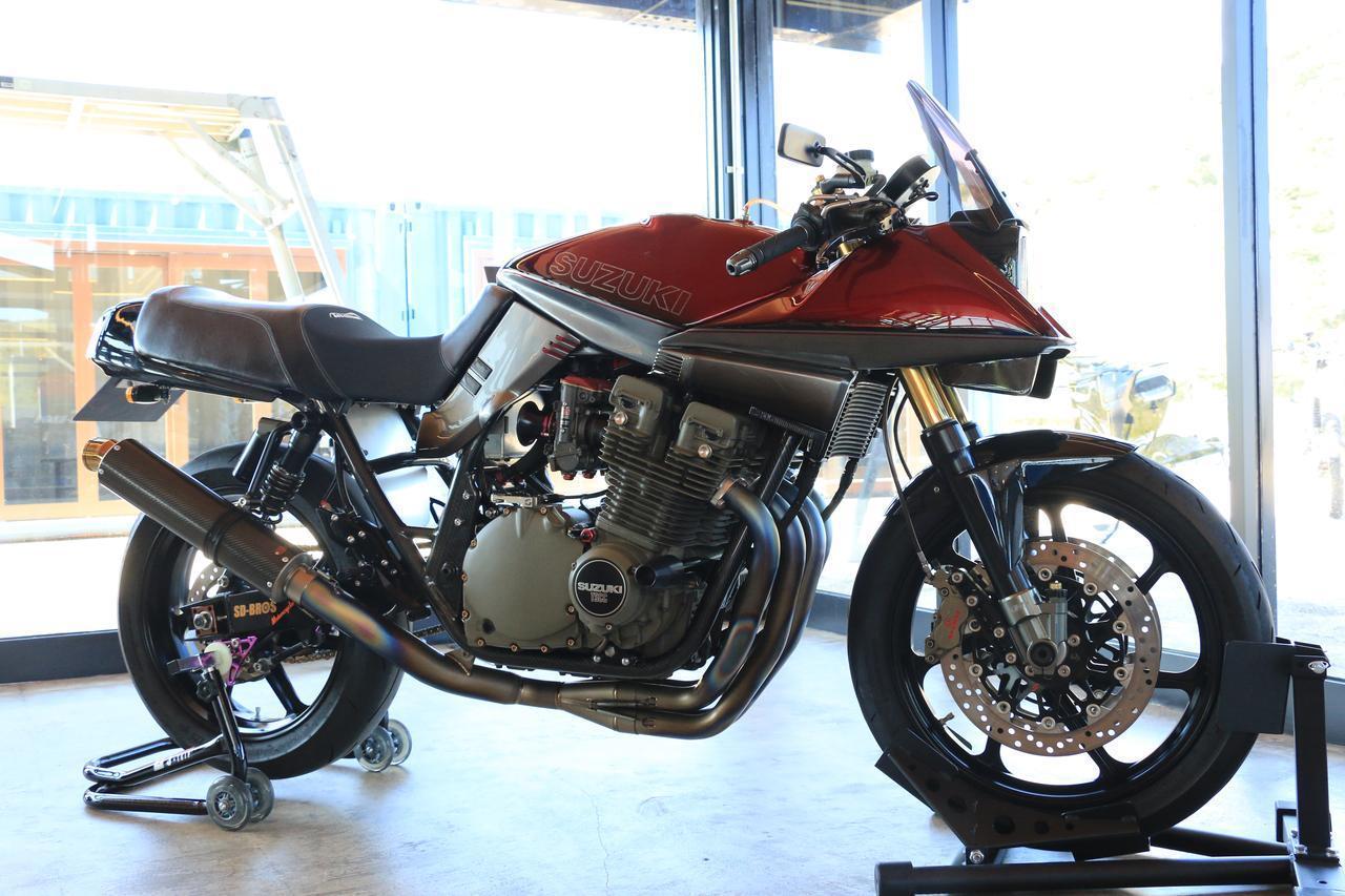 """画像: SUZUKI GSX1100S """"SD BROS Special"""" Cooperated by SD BROS MOTORCYCLE"""