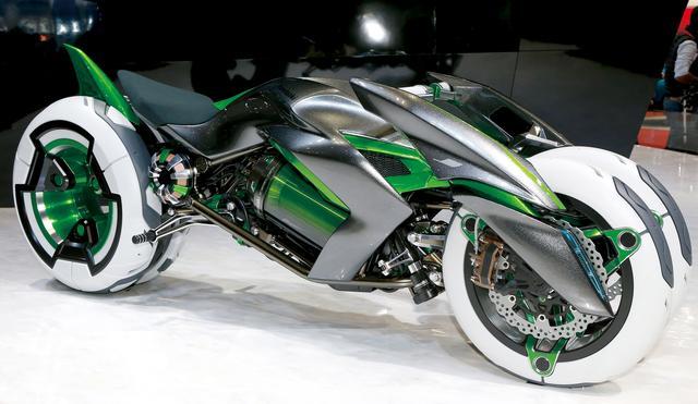 画像: ライダーと「対話」できるAIオートバイ