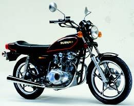 Images : スズキ GS400E 1978 年7月