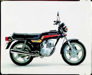 ホンダ CB125T 1978 年 4月