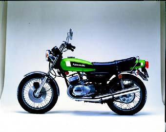 Images : カワサキ KH250 1978 年10月