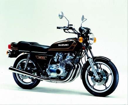 Images : スズキ GS750E-Ⅱ 1978 年10月