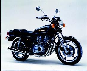 Images : スズキ GS750E 1978 年7月