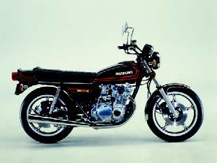 Images : スズキ GS550E-Ⅱ 1978 年10月