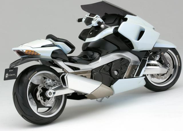 画像2: ビッグスクーターの未来像を提案!