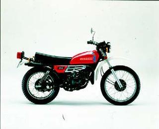 スズキ ハスラーTS250 1978 年 6月