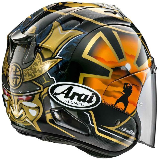 画像: 後頭部の威圧感がスゴい! D・ペドロサ選手のファイナルカラー「SAMURAI」が登場! - webオートバイ