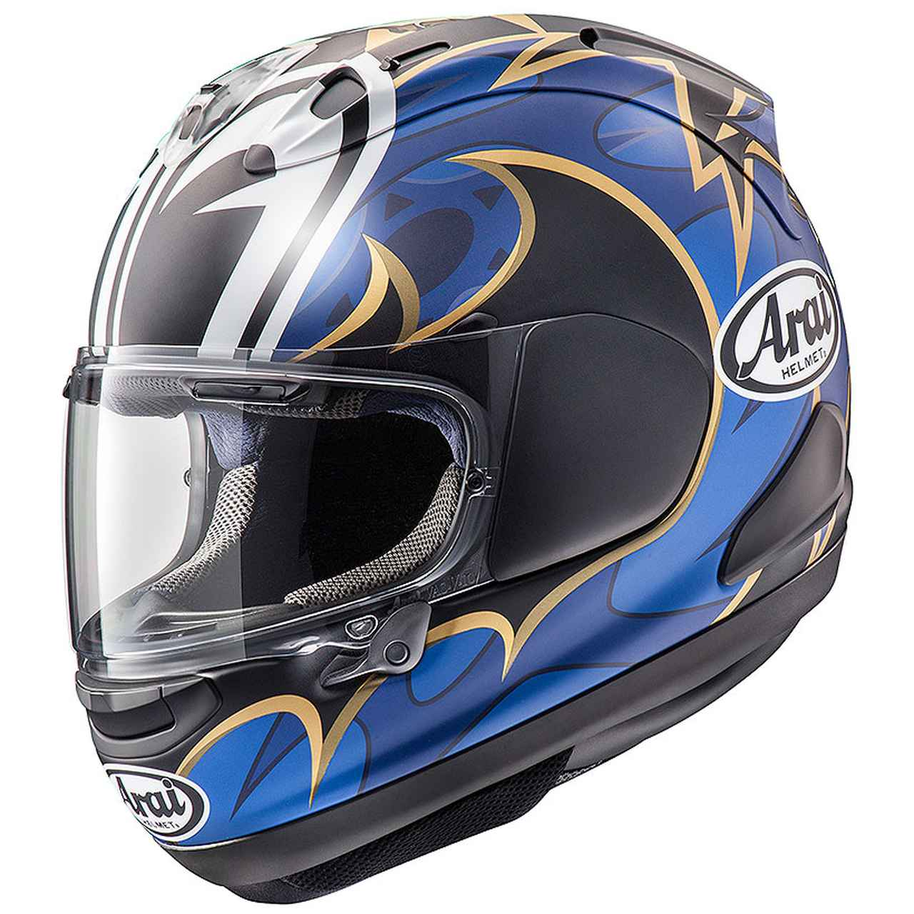 画像1: 全日本ロードレースを代表する中須賀克行選手のレプリカヘルメットがアライ「VZ-RAM」で新登場!!
