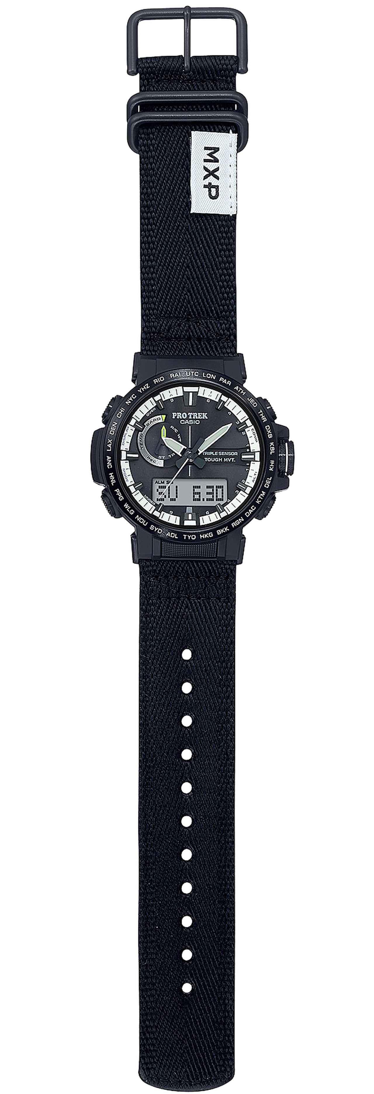 画像: 【腕時計】消臭効果のある新開発バンドを採用! プロトレックのニューモデル「RW-60YBM」がこの10月発売開始