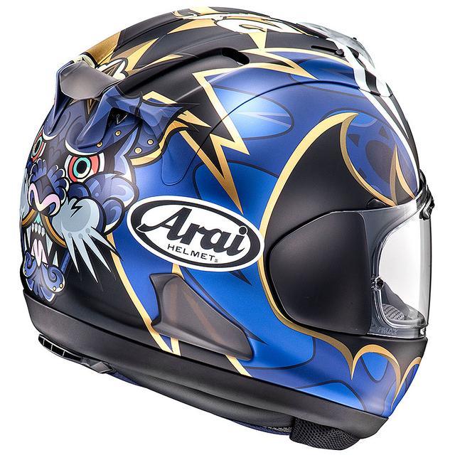 画像2: 全日本ロードレースを代表する中須賀克行選手のレプリカヘルメットがアライ「VZ-RAM」で新登場!!