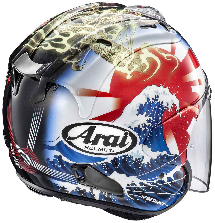 画像: 派手だけどシブい! アライヘルメット「VZ-RAM オリエンタル2」が新登場 - webオートバイ