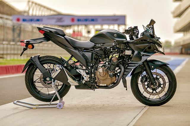 画像: インドで開催された試乗会で展示されたストリップモデル。