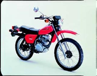 ホンダ XL125S 1979 年 8月