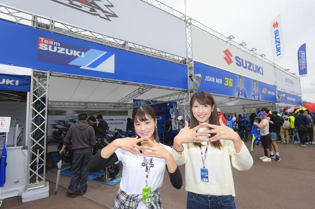 画像: SUZUKIブース