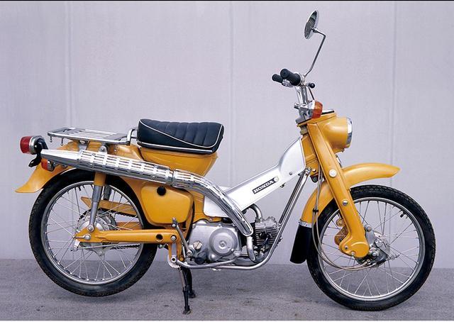 """画像: 「そもそも""""ハンターカブ""""ってどんなバイク?」大注目「CT125」の進化の系譜を東京モーターショー前にチェック!#東京モーターショー2019 - webオートバイ"""