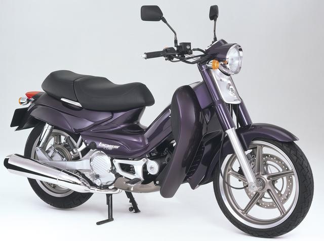 画像: Honda boss cub(1999年)