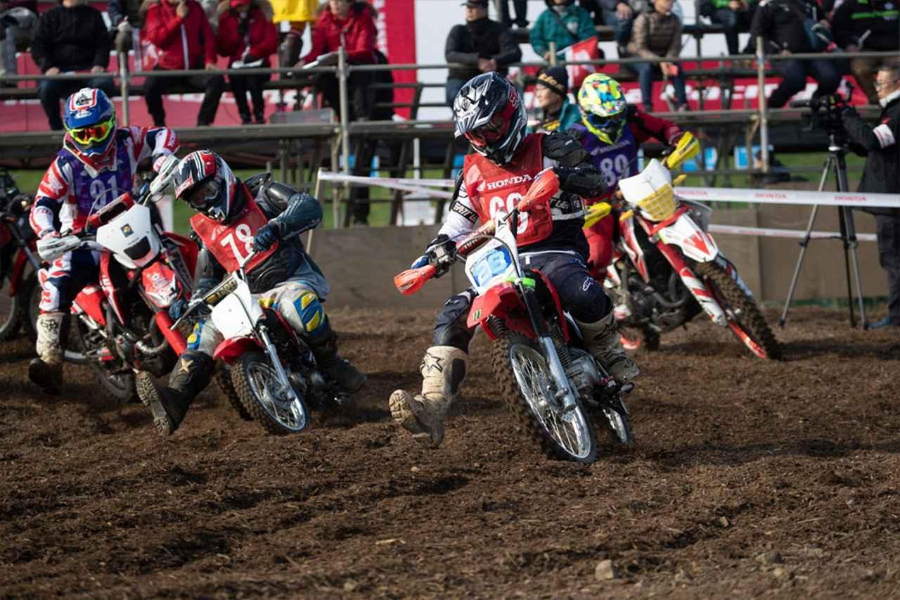 画像: Honda Enjoy 50minレース