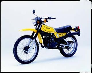 ヤマハ DT125 1980 年 3月