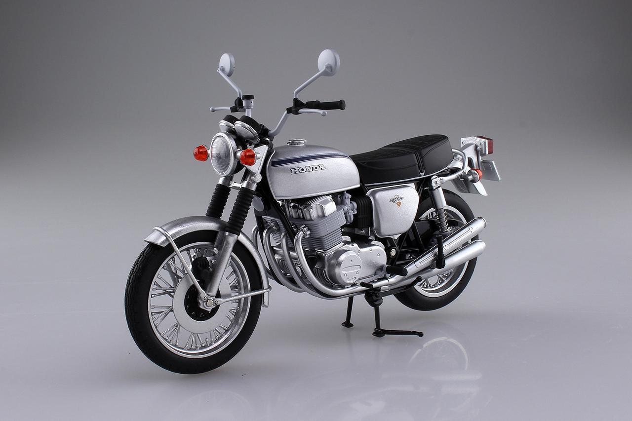 画像: アオシマから1972年式「CB750FOUR K2」発売 - webオートバイ