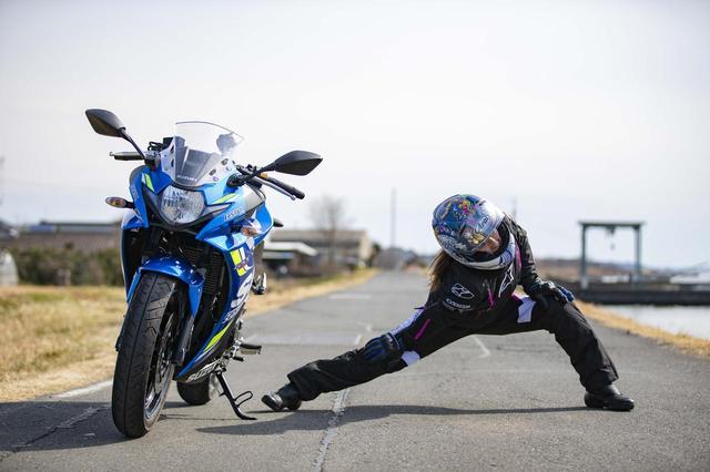 画像: 【連載】もっと上手くなりたい! 葉月美優のGSX250R RIDING DIARY(第8回:霞ヶ浦) - webオートバイ