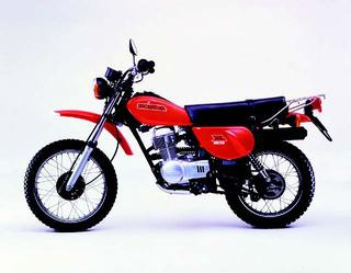 ホンダ XL80S 1980 年 3月