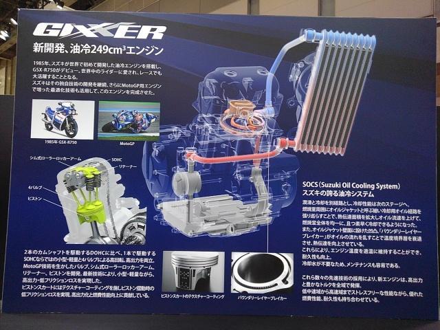 画像3: スズキブースでは油冷エンジンを採用した250ccモデルが目玉に!