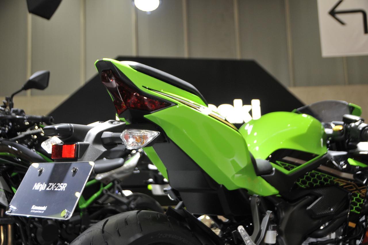 Images : 8番目の画像 - Ninja ZX-25Rのディテール写真もっと見る - webオートバイ