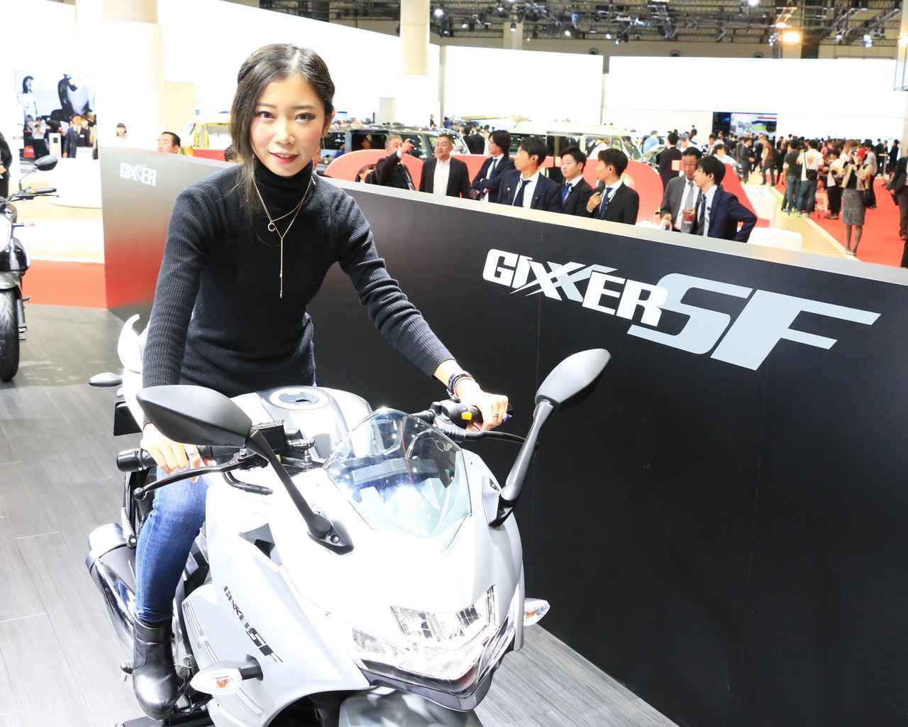 画像: プレスデー初日に取材中のオートバイ女子部・木川田ステラさん。11月1日(金)発売の月刊『オートバイ』で東京モーターショー2019のことを詳しく解説します!