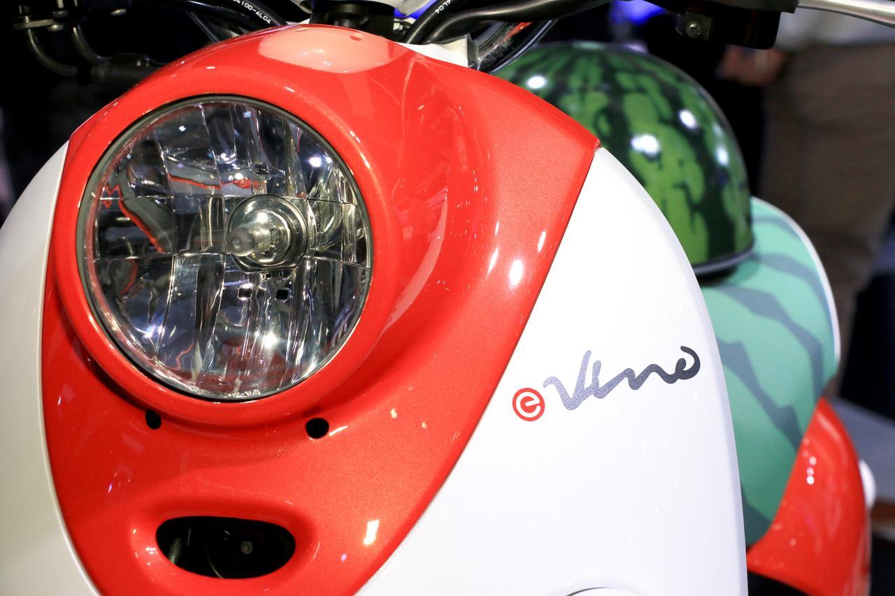 Images : 5番目の画像 - E-Vino(スイカ・カスタム)をもっと見る! - webオートバイ