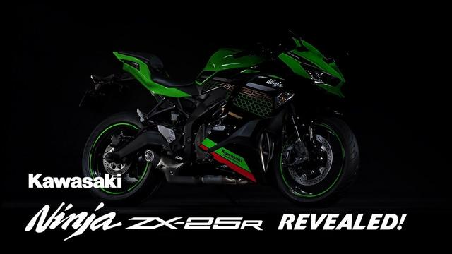 画像: Ninja ZX-25R: Vol.1 Revealed! www.youtube.com