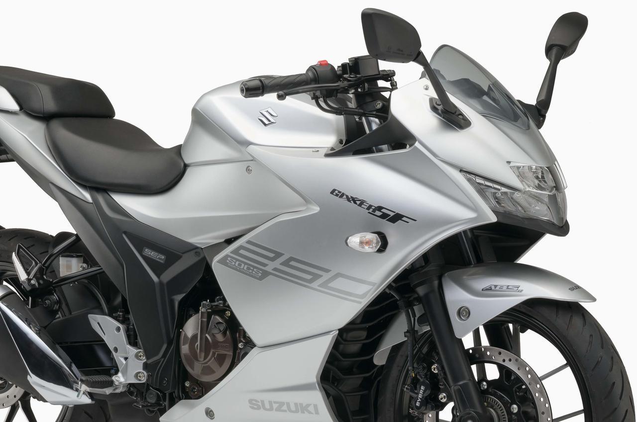 画像: 注目のスズキ「ジクサー250SF」とは? 独創の油冷テクノロジーが光る250ライトウェイトスポーツ#東京モーターショー2019 - webオートバイ
