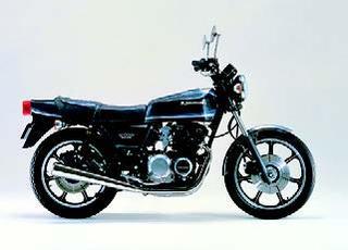 ホンダ Z550FX 1980 年 8月