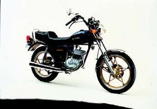 スズキ GN50E 1981年 3月