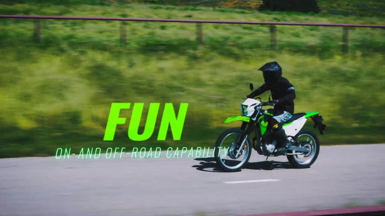 画像: 2020 Kawasaki KLX230 - Studio Video www.youtube.com