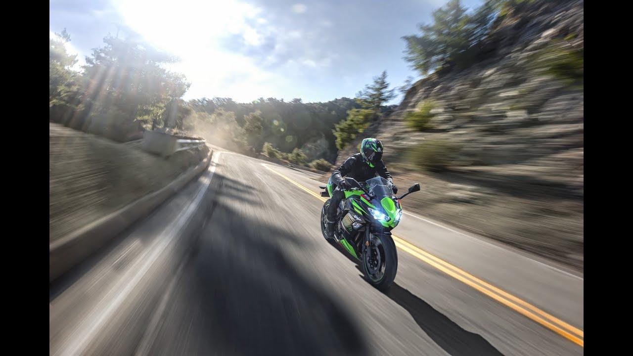 画像: Kawasaki Ninja 650 2020 youtu.be