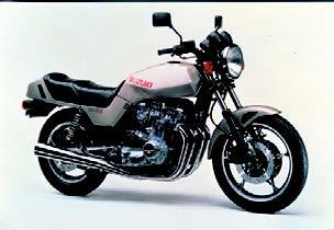 Images : スズキ GSX1100E 1982 年